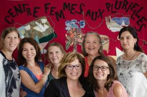 Audrey Tremblay, Cathy Maltais, Lucie Bérubé, Alexandra Simard, Gisèle Dumont, Marianne Guay et Marie-Claude Gagnon
